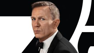 """Daniel Craig in the poster for """"No Time To Die."""""""