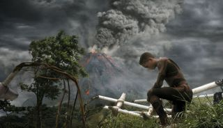 "Jaden Smith With Volcano in ""After Earth"""