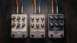 Universal Audio has unveiled its first line of pedals