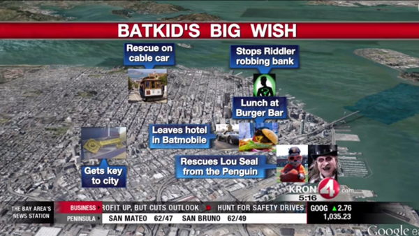 Batkid Map