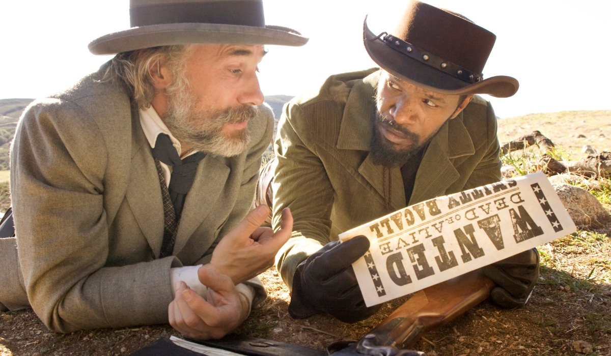 Django Unchained Christoph Waltz discussed a bounty with Jamie Foxx