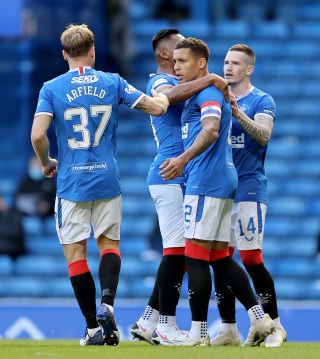 Rangers v Ross County – Scottish Premiership – Ibrox Stadium