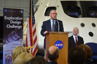 NASA Administrator Bolden Announces Exploration Design Challenge