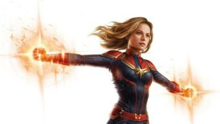 Captain Marvel in leaked Avengers 4 art