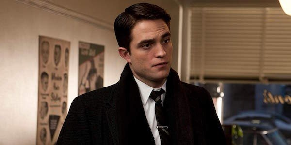 Robert Pattinson in a suit and tie