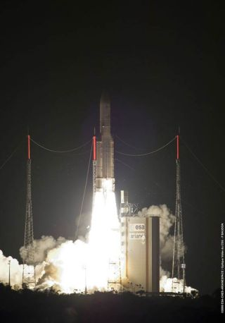 European Rocket Launches Commercial and Military Satellites