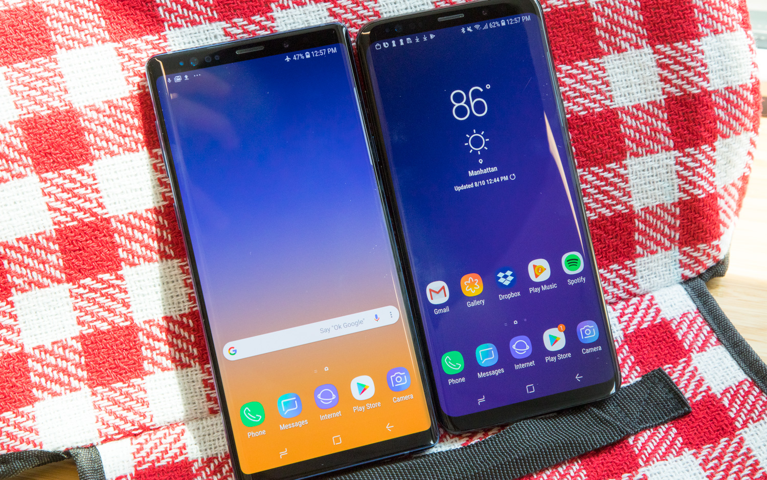 Galaxy Note 9 vs  Galaxy S9: Which Should You Buy? | Tom's Guide