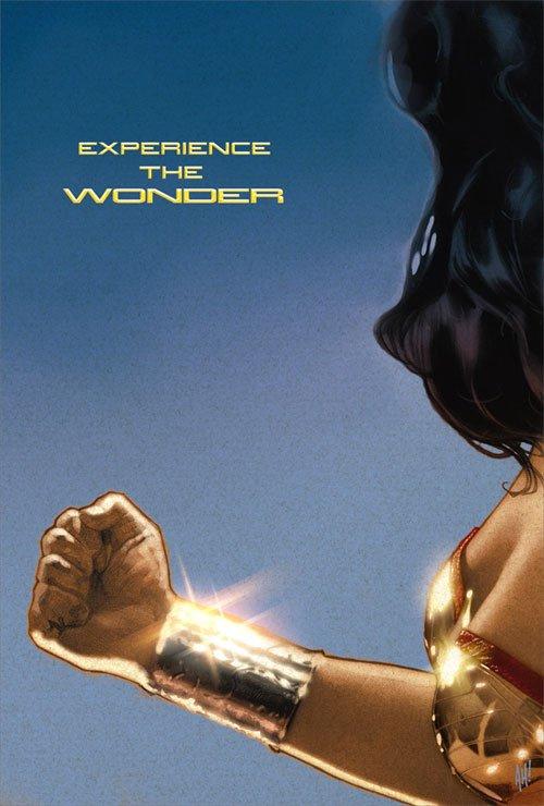 joss whedon's wonder woman poster