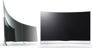 LG and Samsung curved OLED TVs go on sale