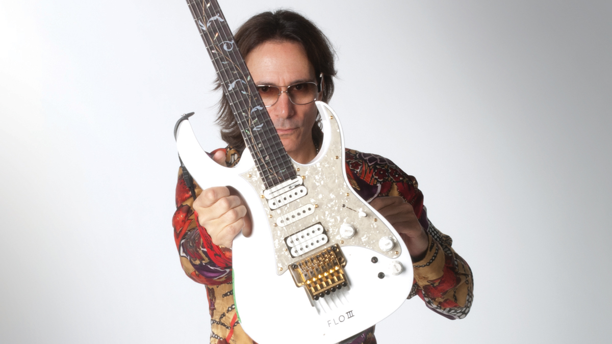 Ogle Steve Vai's ridiculous guitar collection with this comprehensive archive