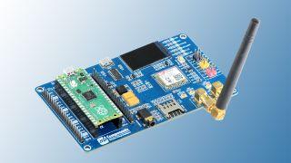 Tjhe Raspberry Pi Pico 2G Expansion board
