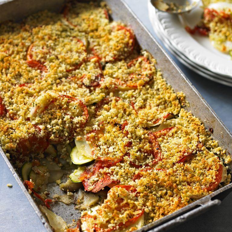 Mediterranean vegetable gratin recipe