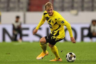 Julian Brandt and Borussia Dortmund take on Sport-Club Freiburg on Saturday in the German Bundesliga.