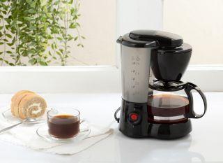 Coffee maker on worktop