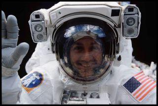 NASA astronaut Mike Massimino