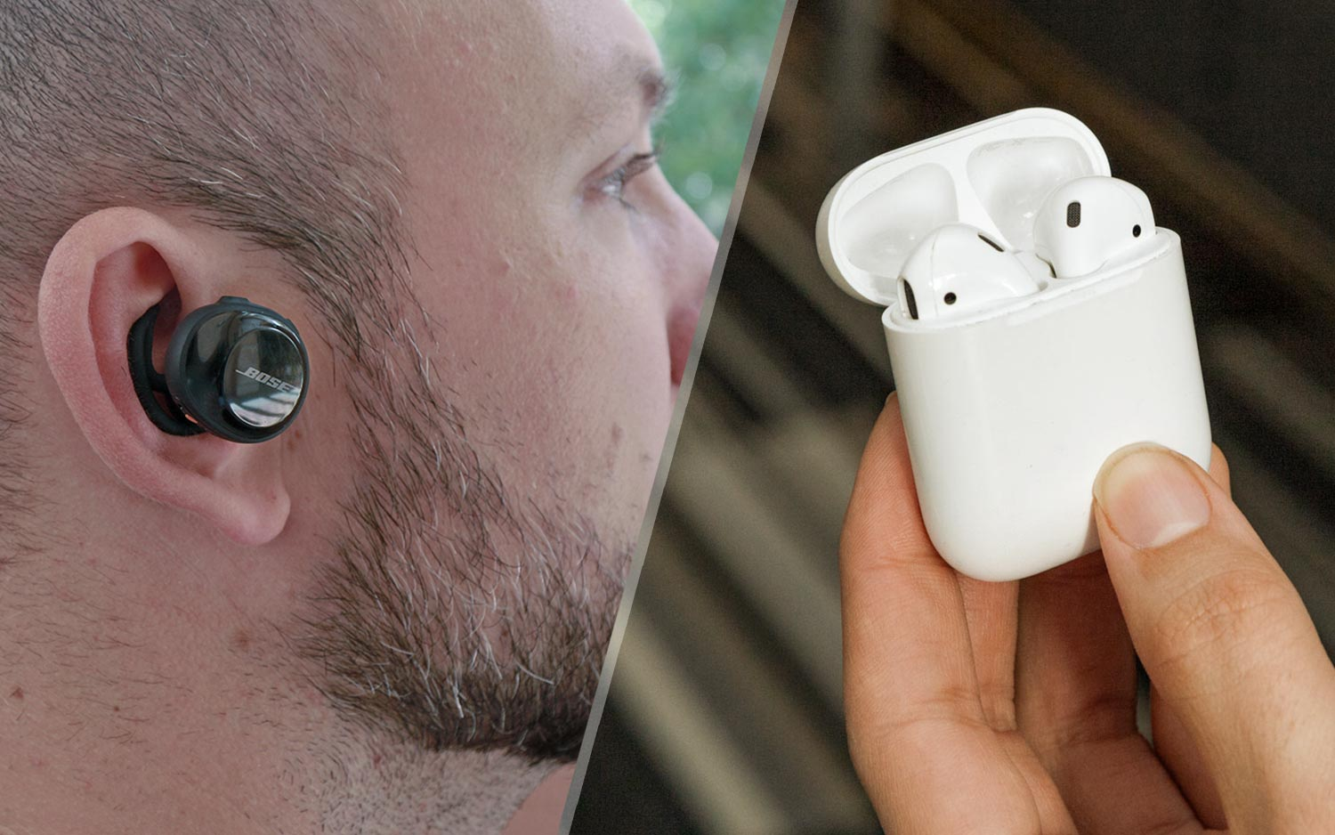Airpods Vs Bose Soundsport Free Which Wireless Earbuds Win