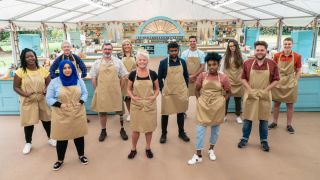 Season 11 contestants of The Great British Bake Off.