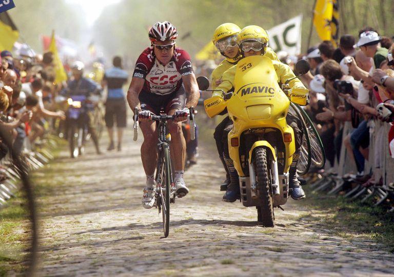 Stuart O'Grady at Paris-Roubaix 2007