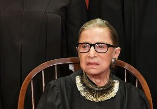 Supreme Court Justice Ruth Bader Ginsburg poses for the official photo at the Supreme Court in Washington, D.C. on Nov. 30, 2018.