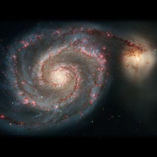 2005: Whirlpool Galaxy (M51)