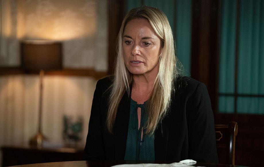 EastEnders Mel Owen talks about Hunter's funeral