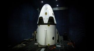 A look at the SpaceX Dragon vehicle that will undergo a crucial pad abort test in early 2015.