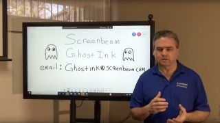 ScreenBeam has announced its latest technology solution called Ghost Inking, which is designed to improve the annotation experience on a wireless connected interactive display using a Windows PC.