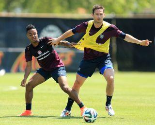Soccer – World Cup 2014 – Miami Training Camp – England v Honduras – England Training Session – Barry University