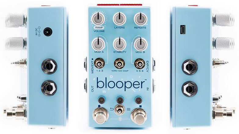 Chase Bliss Audio's Blooper turns looping into a work of art | Guitarworld