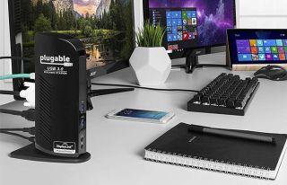 El mejor muelle barato: estación de acoplamiento universal de doble pantalla UD-3900 enchufable