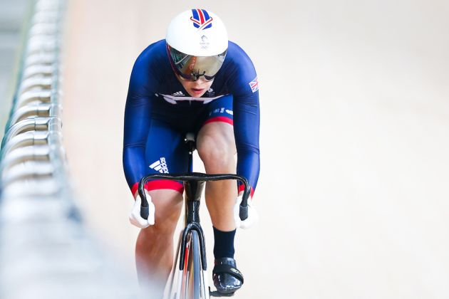 Silver for Becky James in women's keirin in Rio; Elis Ligtlee takes gold