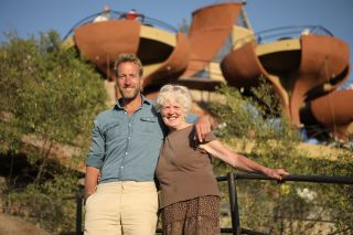 Ben and Susan in Ben Fogle: New Lives in the Wild