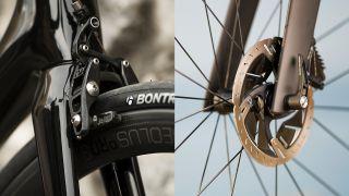 Rim brakes vs disc brakes