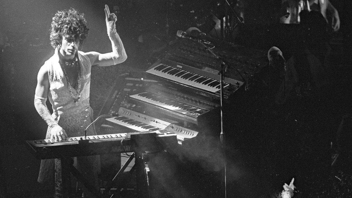 Prince's go-to synths and drum machine: a career in music tech gear