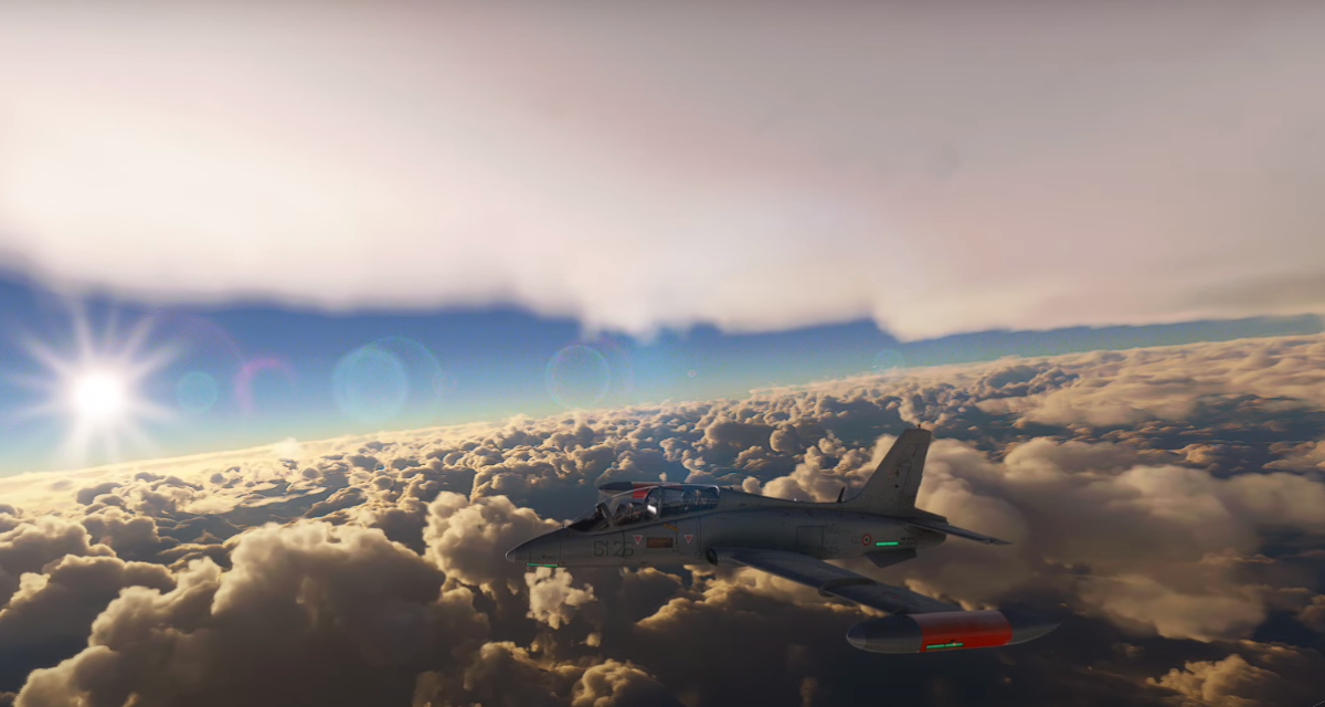 Players use Microsoft Flight Simulator to fly through Hurricane Ida in real time