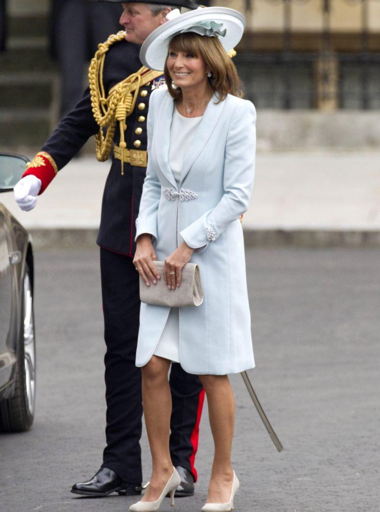 top 10 royal wedding fashion hightlights-woman and home-Carole Middleton