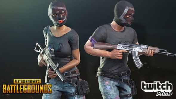 If you collected PUBG's Twitch Prime loot last month you