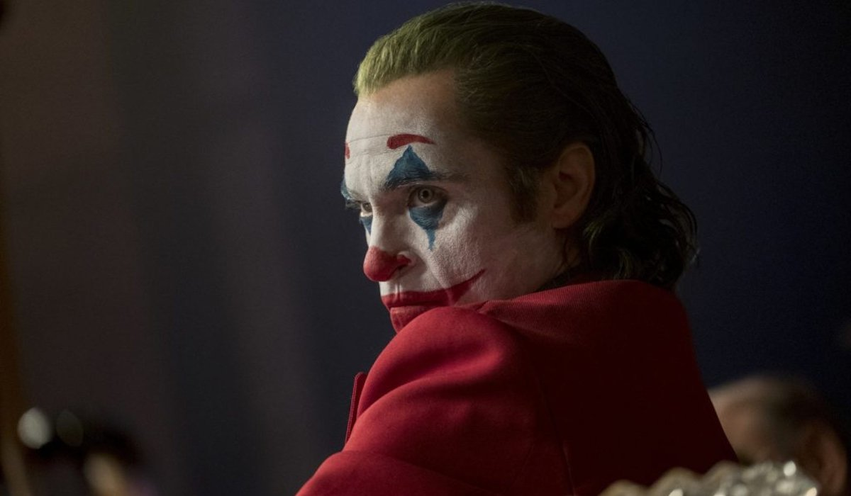 Joker Arthur staring with contempt