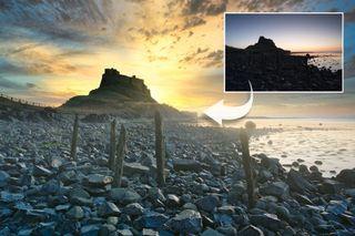Luminar AI landscape - a scene of a beach