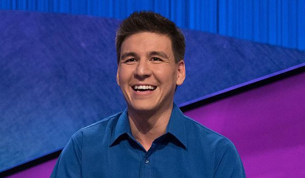 James Holzhauer Screenshot from Jeopardy! 2019