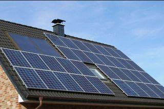 Solar panels storage