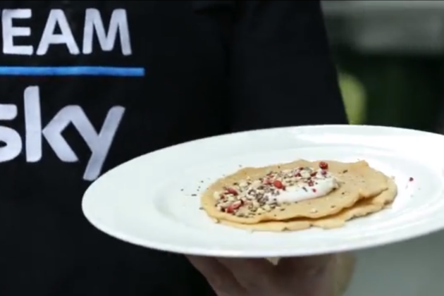 Team sky chef shows us how to make peptide pancakes video team sky chef shows us how to make peptide pancakes video ccuart Gallery