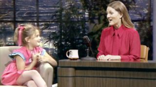 Drew Barrymore interviewing her 7-year-old self in first promo for new talker