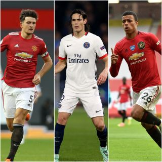Harry Maguire, Edinson Cavani and Mason Greenwood are all missing for Manchester United