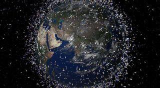 Orbital debris