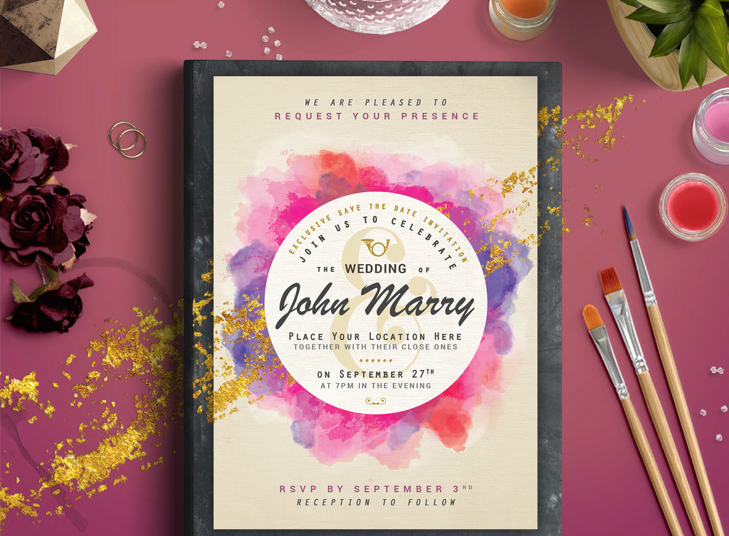 5 ways Adobe stock templates can help with your wedding planning | Creative Bloq
