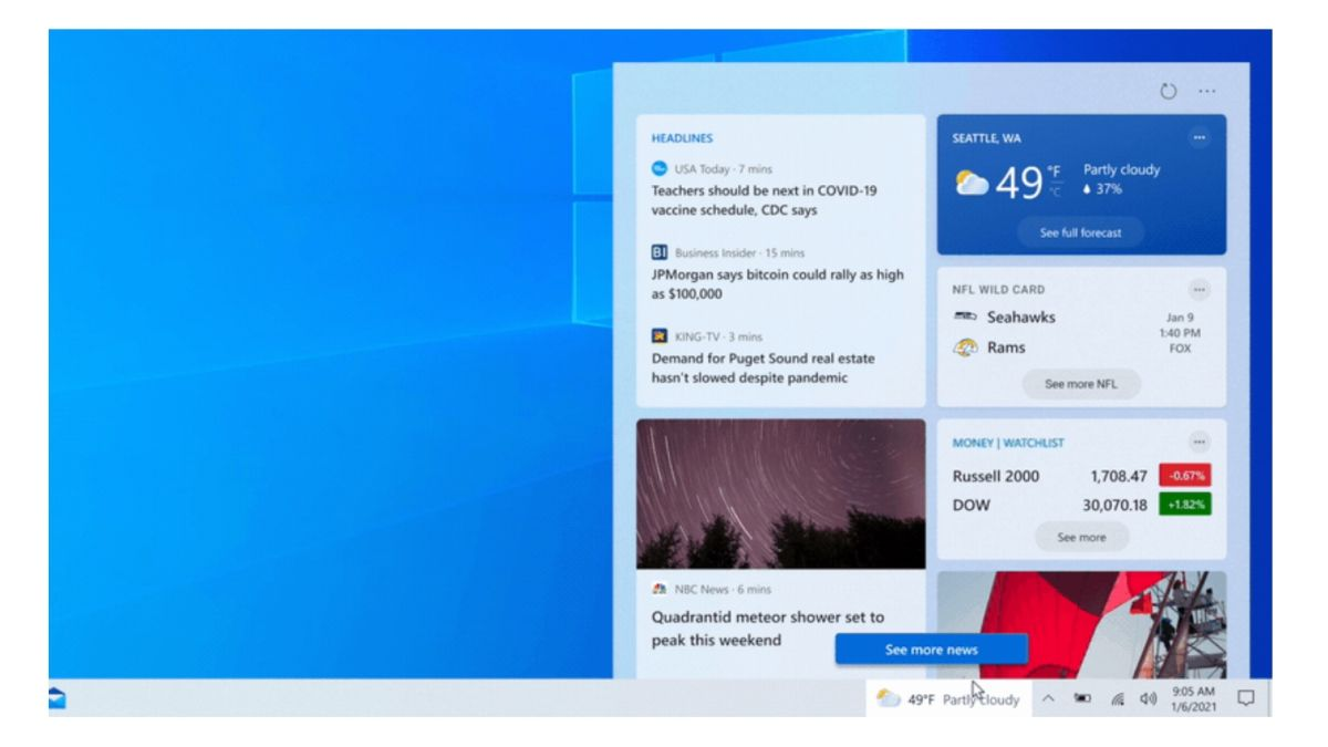 Windows 10 taskbar is getting a drastic makeover cover image