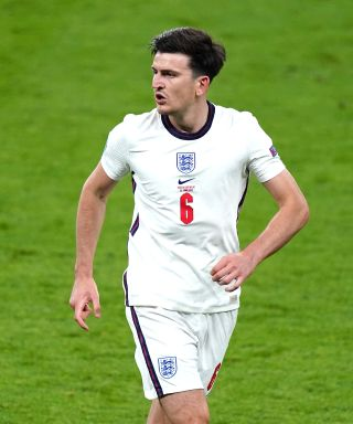 Harry Maguire made his first appearance of the Euros in England's win over the Czech Republic.