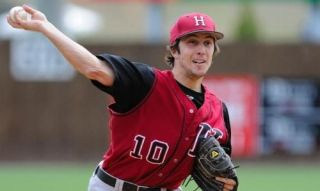 College Baseball Pitcher