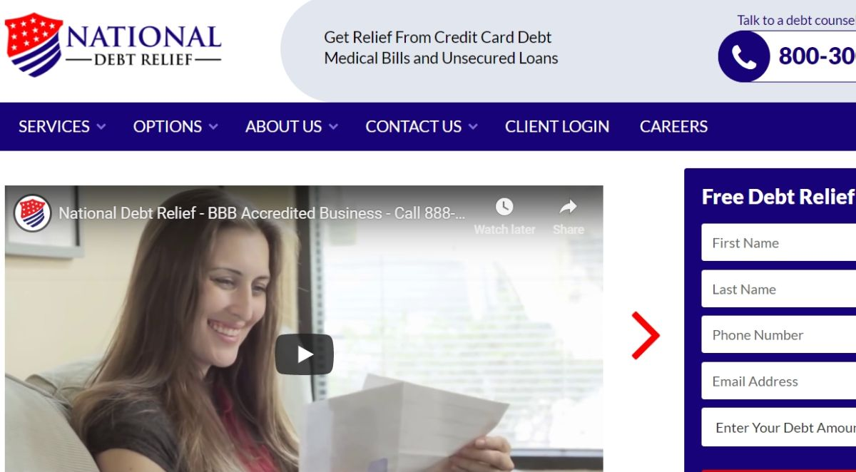 National Debt Relief Review   Top Ten Reviews
